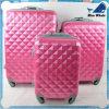 蝶パターン荷物が付いているABS+PCの荷物プリントトロリー袋