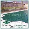 Cubierta plástica de la Cubrir-Seguridad del invierno de la piscina de la en-Tierra para 24 piscinas grandes redondas del pie Concreate