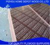Los materiales de construcción de la madera contrachapada, película de 21m m Brown hicieron frente a la madera contrachapada marina