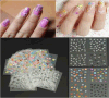 3D DIY Colorful Water Nail Art Autocollants Nail Sticker