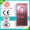 Diseño de acero de la puerta de la seguridad de la puerta principal del hierro del precio bajo