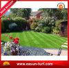 Tappeto erboso artificiale di bello del giardino paesaggio della decorazione