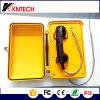 Telefono robusto di VoIP della prova del tempo del citofono Knsp-03 del microtelefono del supporto della parete