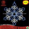 Indicatore luminoso di natale blu del fiocco di neve della corda di attaccatura del LED 100cm