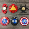 Kapitein America Hand Finger Spinner Metaal friemelt Spinners