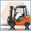 1.0ton LPG u. Gasoline Forklift