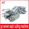 Machines de découpage de fournisseur de la Chine pour le roulis de sac tissé par pp à plastique