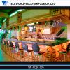 Contatore illuminato commerciale della barra del ristorante della TW