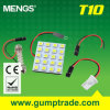 Mengs&reg ; Éclairage LED de T10 Sv8.5 Ba9s 3W Auto avec du CE RoHS SMD 2 Years'warranty (120140022)