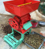 Macchina verde della sgranatrice dei chicchi di caffè