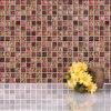 Crystal classique Glass Mosaic et Resin Mosaic (M815028)