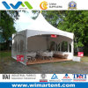 6mx6m White Gazebo Canopy with Sides for Party
