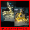 온난한 White Christmas Decoration 제 2 Motif LED Reindeer Light