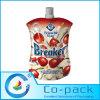 習慣によって印刷されるナイロンナットのミルク袋