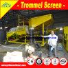Завод золота Tph движимости 150 моя, передвижная машина мытья штуфа золота