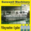5 Gallone /18L/19L/18.9L abgefüllt/Wasser-Füllmaschine-/Filling-Zeile des Fass-reine Water/Drinking