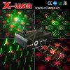 Rojo y verde de luz láser (RG) Animación Fireworks