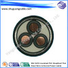Mv XLPE Insulated PVC Sheathed Thin Steel Wire Armored Electric Power Cable