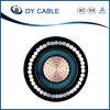 Buen cable de transmisión aislado XLPE de cobre de la base de la calidad 35kv
