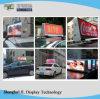 2018 HD 두 배 마스크 택시 최고 광고 LED P5