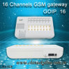 Dispositivo de GoIP de 6 canaletas, passagem de GoIP G/M de 16 portos para a terminação 850/900/1800/1900MHz da chamada, mudança de IMEI