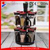 Niveles de ventas 2 caliente claro 12PC frascos de especias al por mayor con rack
