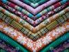 100%年の綿のあや織りファブリック