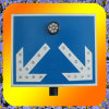 Super Bright LED Flash Branch Road Oriented Solar Traffic Signs