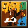 Schilderen van de Kunst van de kleur Steen het Ingelegde (W404009)