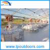 Grande Wedding Tent Transparent Marquee Tent con Table e Chairs