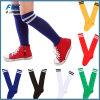 Peúgas longas do futebol do futebol do esporte das crianças sobre a peúga elevada do joelho