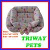 높은 Quaulity와 안락 산호 우단 개 고양이 애완 동물 침대 (WY161042A/B)