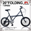 X Type Alloy 7 Speed ​​Folding Bike (WL-2037A)