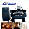 Máquina CNC rotativo de madeira 1530 Máquina de fazer da porta de madeira