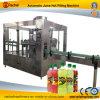 Máquina de rellenar del jugo caliente automático 3 in-1