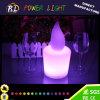 Colorir a lâmpada decorativa em mudança da vela do diodo emissor de luz