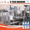 Agua Mineral/lavado automático de llenado y tapado de la línea de producción