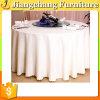 Luxuried rundete gekräuseltes Tisch-Tuch auf (JC-ZB04)
