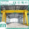 Grue de portique électrique de grue de poutre simple de 10 tonnes