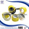 Fabricante profesional de cinta amarillenta del embalaje de OPP