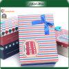 Caja de papel coloreada reutilizable del regalo de la manera hermosa para la Navidad