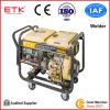 Generatore diesel del saldatore con il motore certo di qualità (cassa bianca del ventilatore)
