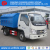 Vuilnisauto's van het Wapen Hooklift van de Container 3tons van het Huisvuil van Csc 3m3 de Hydraulische op Verkoop