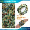 Écharpe sans couture multifonctionnelle de Bandana de tube de Microfiber d'évaluation de Wholeslae