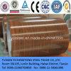 PPGI imprimió el modelo Enrollar-De madera de acero prepintado