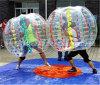 Bola de la burbuja de Certifiacte el 1.7m TPU del Ce con los puntos multicolores D5034