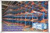 Unidade no depósito de Transporte do sistema de rack de armazenamento