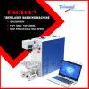 Машина маркировки лазера волокна Китая дешевая 10W 20W 30W для металла/пластмассы/нержавеющей стали гравировки