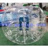 De volwassen Bal van de Bumper van het Lichaam TPU/1.5m van de Kleur van de Bal van de Bumper Transparante Opblaasbare