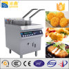 Pesci e Chips Fryers con Double Baskets Induction Fry Machine